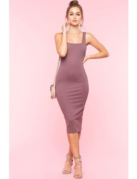 Strappy Back Bodycon Dress by A'gaci