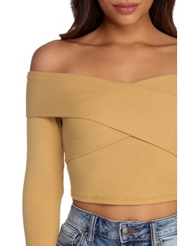 Promise Me Off Shoulder Top by Windsor