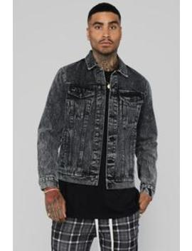 Andy Denim Jacket   Black by Fashion Nova