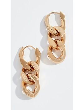 D'oreilles Gravure Earrings by A.P.C.