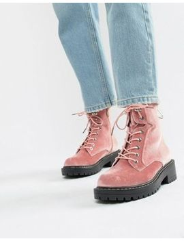 Blink Chunky Hiker Ankle Boots by Blink