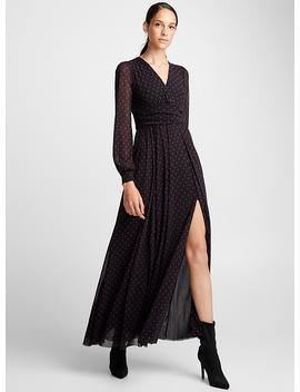 Dotted Maxi Dress by Fuzzi