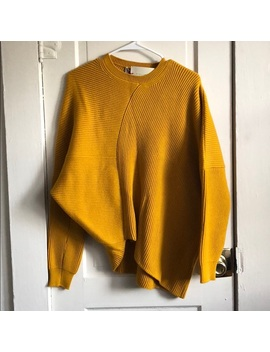 Mustard Yellow Jumper Sweater by Stella Mc Cartney