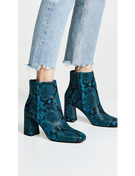 Dobrey Block Heel Booties by Alice + Olivia
