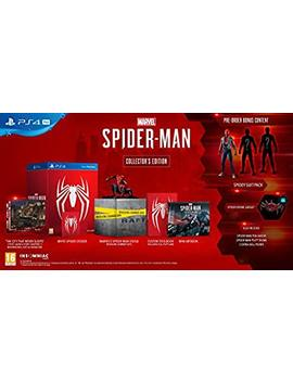 Marvel's Spider Man Collector's Edition   Play Station 4 by By          Sony