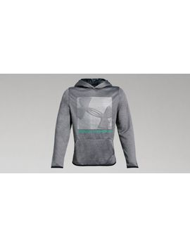 Armour Fleece® Logo Boys' Hoodie by Under Armour