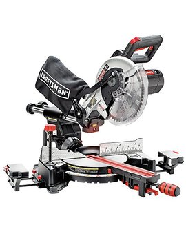 "Craftsman 10"" Single Bevel Sliding Compound Miter Saw (21237) by Craftsman"