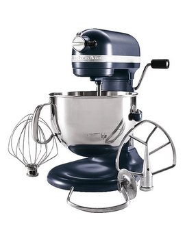 kitchenaid-kp26m1xbs-professional-600-series-blue-steel-6-quart-bowl-lift-stand-mixer by kitchenaid