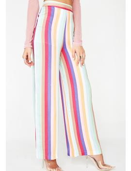 Striking Stripes Wide Leg Pants by Wild Honey