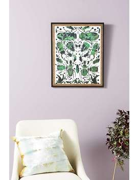 Emerald Beetles Wall Art by Artfully Walls