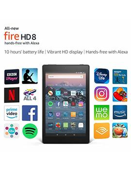 "All New Fire Hd 8 Tablet | Hands Free With Alexa | 8"" Hd Display, 32 Gb, Black   With Special Offers by Amazon"