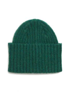 Drakes Brushed Wool Beanie by Drake's