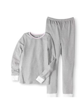 Girls' Soft Waffle Thermal Underwear Set by Fruit Of The Loom