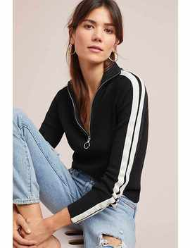 Sporty Half Zip Pullover by Moth
