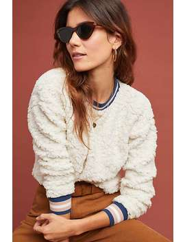 Striped Sherpa Sweatshirt by Moulinette Soeurs