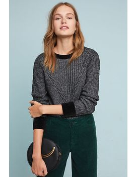 Solace Cable Knit Sweater by Moth