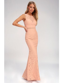 music-of-the-heart-blush-pink-lace-maxi-dress by lulus