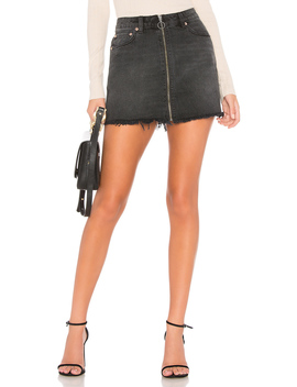Zip It Up Mini Skirt by Free People