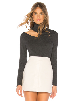 Mock Neck Rib Top by 1. State