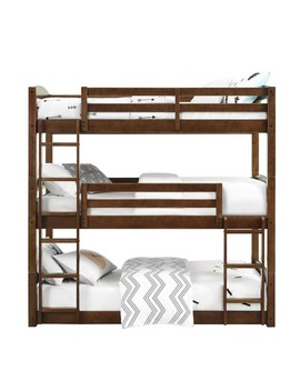 Bertha Triple Bunk Bed   Dorel Living by Dorel Living