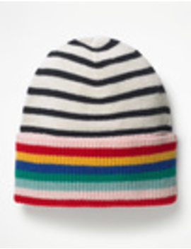 Stripe Detail Hat by Boden