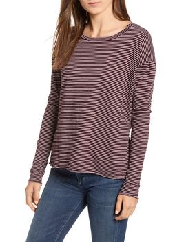 Core Stripe Long Sleeve Tee by Frank & Eileen Tee Lab