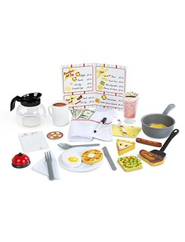 Melissa & Doug Star Diner Restaurant Play Set House (41 Piece) by Melissa & Doug