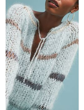 Ombre Drop Stitched Sweater by Maiami