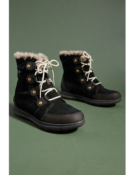 Sorel Explorer Joan Suede Boots by Sorel