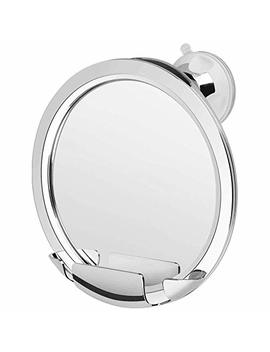 Kedsum Fogless Shower Mirror, No Fog Bathroom Mirror With Razor Holder, Fog Free Shaving Mirror With Upgraded Strong Locking Suction, Fogless Mirror For... by Kedsum