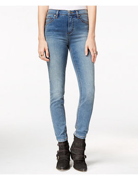 High Rise Roller Skinny Jeans by Free People