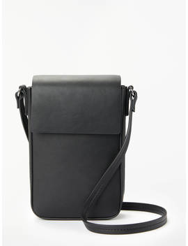 Kin Renja Mini Cross Body Bag, Black by Kin