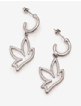Bird Charm Earrings by Boden