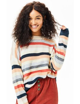 Mink Pink Matilda Striped Sweater by Pacsun