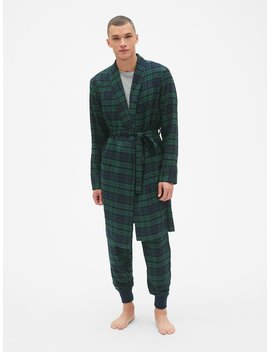 Plaid Flannel Robe by Gap