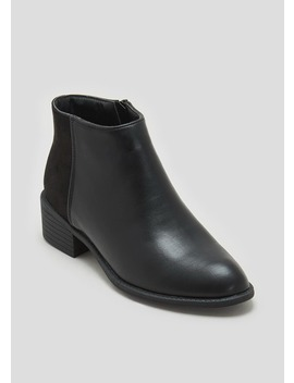 Panel Ankle Boots by Matalan