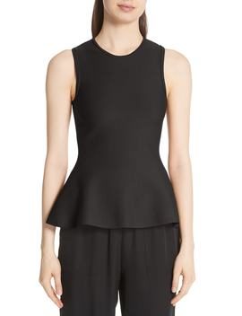 Lustrate Classic Peplum Top by Theory