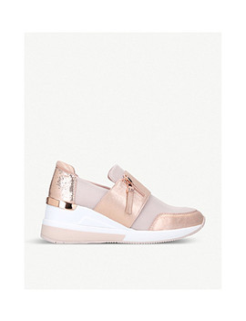 Chelsie Metallic Trainers by Michael Michael Kors