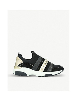 Lucky Embellished Neoprene Trainers by Carvela