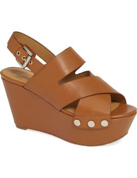 Bianka Platform Wedge Sandal by Marc Fisher Ltd