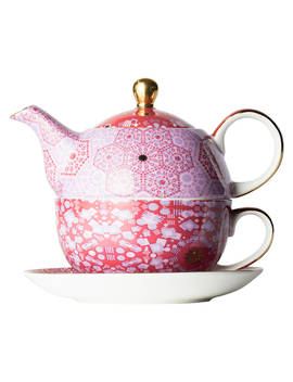 T2 Moroccan Tealeidoscope Teapot For One, Rose, 450ml by T2