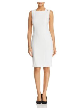 Daphima Strappy Sheath Dress   100 Percents Exclusive by Boss