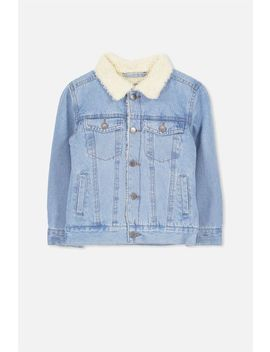 Bruce Denim Jacket by Cotton On