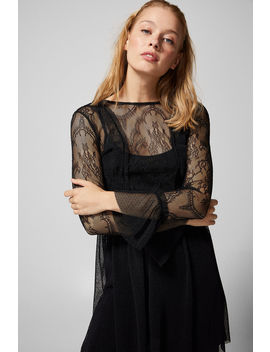 Sheer Lace Dress by Springfield