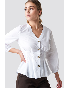 Button Detailed Shirt by Trendyol