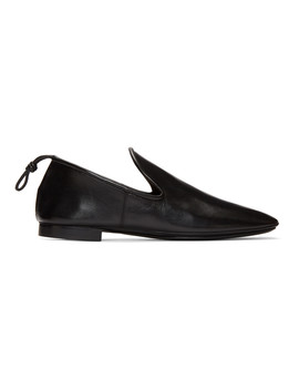 Black Soft Loafers by Lemaire