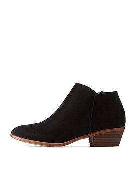 Ankle Chelsea Booties by Charlotte Russe
