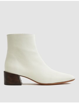 Classic Leather Ankle Boot by Mari Giudicelli