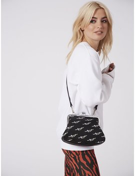 Disney X Skinnydip Mickey Logo Cross Body Bag by Skinnydip