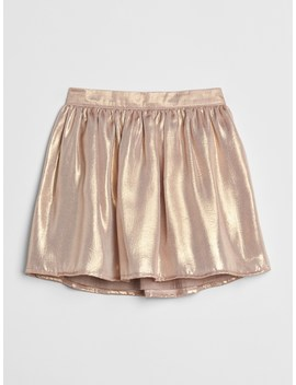 Metallic Flippy Skirt by Gap